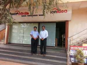 Mr. Nishit Sahay Visited IonIdea and reviewed IonCUDOS on 16 Sep 2014